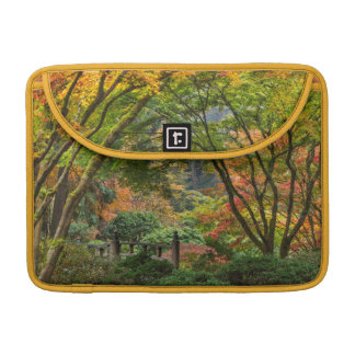 Japanese Gardens In Autumn In Portland, Oregon 4 Sleeve For MacBook Pro