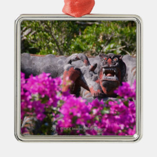 Japanese gargoyle christmas ornament