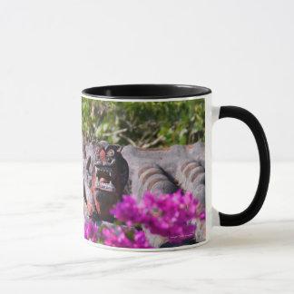 Japanese gargoyle mug