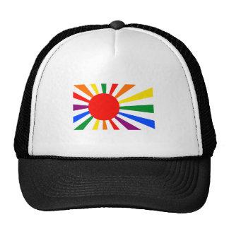 JAPANESE GAY PRIDE TRUCKER HAT