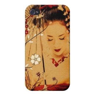 Japanese Geisha 3 Asian Kimono Covers For iPhone 4