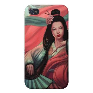 Japanese Geisha 4 Asian Kimono iPhone 4 Cover