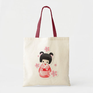 Japanese Geisha Doll - buns series Bag