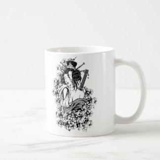 Japanese Geisha Girl Coffee Mug