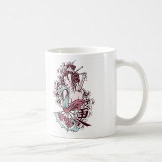 Japanese Geisha Girl Mug