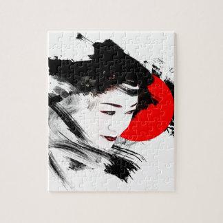 Japanese Geisha Jigsaw Puzzle