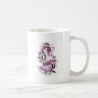 Japanese Geisha Mug