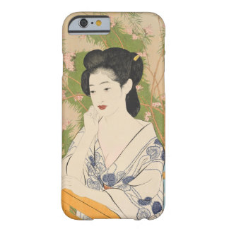 Japanese Geisha Woodblock iPhone Case Barely There iPhone 6 Case