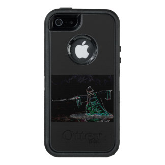 Japanese girl with sword OtterBox iPhone 5/5s/SE case