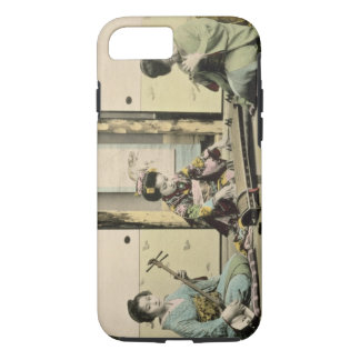 Japanese girls playing the flute, 'koto' and samis iPhone 7 case