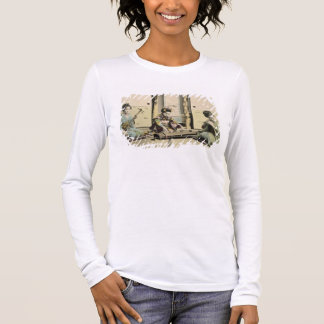 Japanese girls playing the flute, 'koto' and samis long sleeve T-Shirt