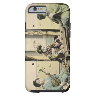 Japanese girls playing the flute, 'koto' and samis tough iPhone 6 case