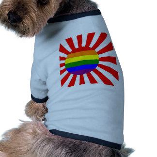 Japanese GLBT Pride Pet Shirt