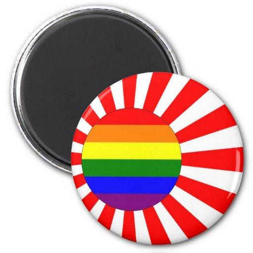 Japanese GLBT Pride Magnets