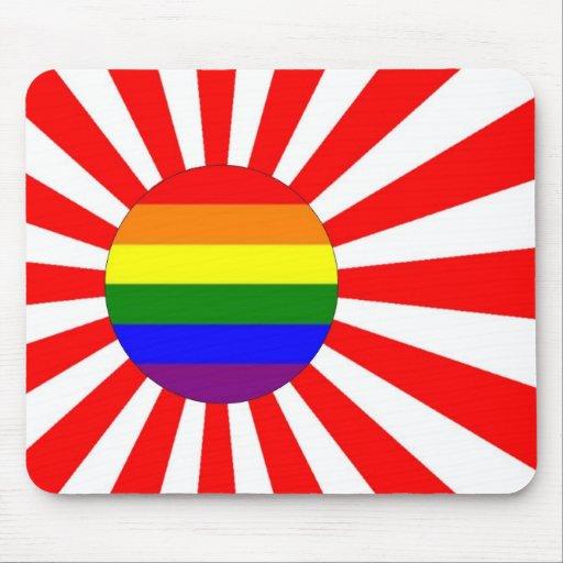 Japanese GLBT Pride Mouse Mat