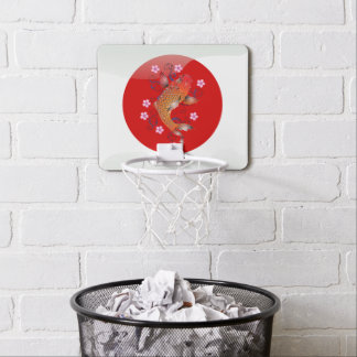 Japanese glossy flag mini basketball hoop