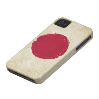 Japanese Grunge Flag iPhone 4 Case-Mate Cases