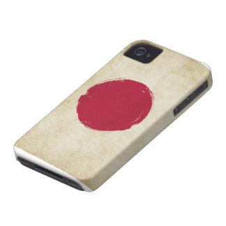 Japanese Grunge Flag iPhone 4 Cases