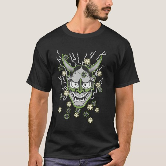 Japanese Hannya Mask T-Shirt