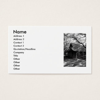 Japanese House Business Card