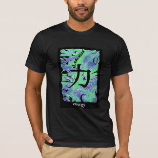 Japanese Ideograms T-shirt - Energy