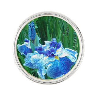 JAPANESE IRIS  lapel pin