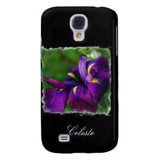 Japanese Iris Purple Samsung Galaxy S4 Case