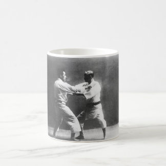 Japanese Judoka Jigoro Kano Kyuzo Mifue Judo Basic White Mug