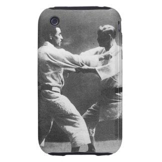 Japanese Judoka Jigoro Kano Kyuzo Mifue Judo Tough iPhone 3 Cover