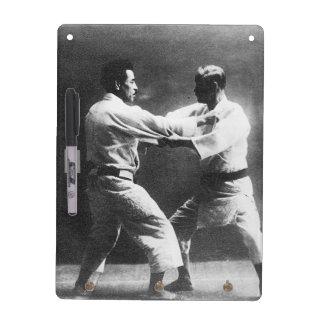 Japanese Judoka Jigoro Kano Kyuzo Mifue Judo Dry Erase Board