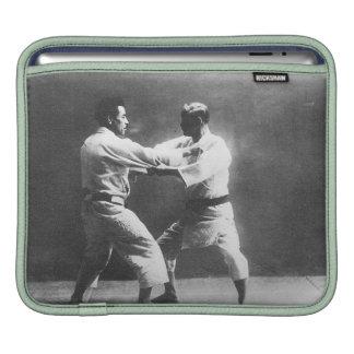 Japanese Judoka Jigoro Kano Kyuzo Mifue Judo iPad Sleeve
