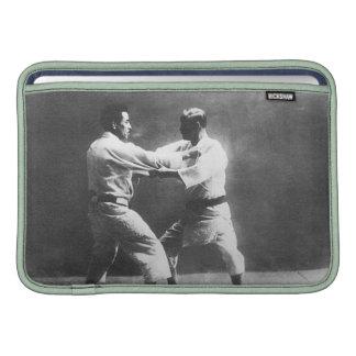 Japanese Judoka Jigoro Kano Kyuzo Mifue Judo MacBook Air Sleeve