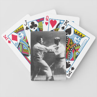 Japanese Judoka Jigoro Kano Kyuzo Mifue Judo Playing Cards