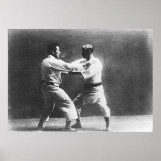 Japanese Judoka Jigoro Kano Kyuzo Mifue Judo Print