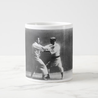 Japanese Judoka Jigoro Kano Kyuzo Mifue Judo Extra Large Mugs