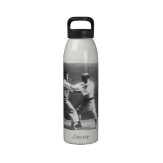 Japanese Judoka Jigoro Kano Kyuzo Mifue Judo Water Bottles