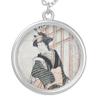 Japanese Kabuki Theater necklace