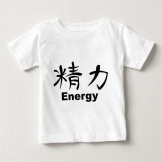 Japanese Kanji for Energy Baby T-Shirt