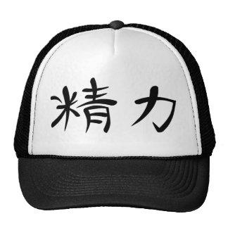 Japanese Kanji for Energy Cap