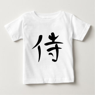 Japanese Kanji for Samurai Baby T-Shirt