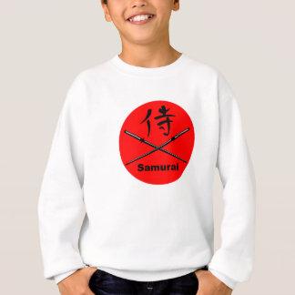 Japanese Katana and Samurai Kanji Sweatshirt