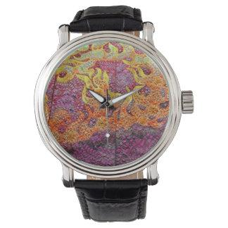 Japanese kimono (detail) wristwatch