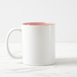 Japanese kimono Two-Tone mug
