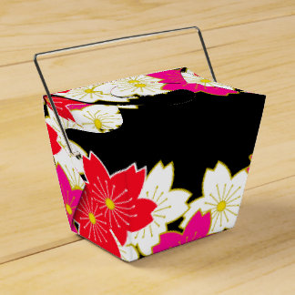 Japanese Kimono pattern Gift bag SAKURA Favour Box