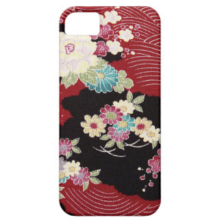 Japanese KIMONO Textile, Floral Pattern Barely There iPhone 5 Case