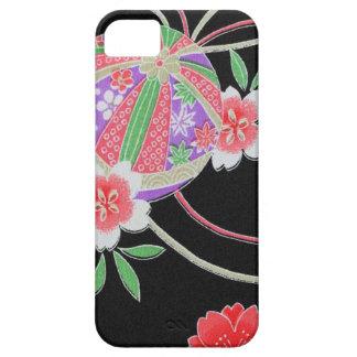 Japanese KIMONO Textile, Floret Pattern iPhone 5 Covers
