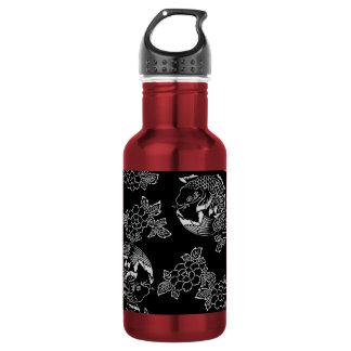 Japanese Koi(Carp) Tattoo 532 Ml Water Bottle