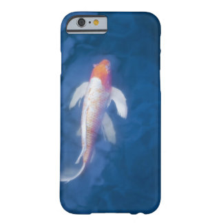 Japanese koi fish in pond, high angle view barely there iPhone 6 case