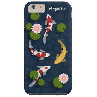 Japanese Koi Fish Pond Tough iPhone 6 Plus Case