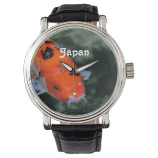 Japanese Koi Wristwatches